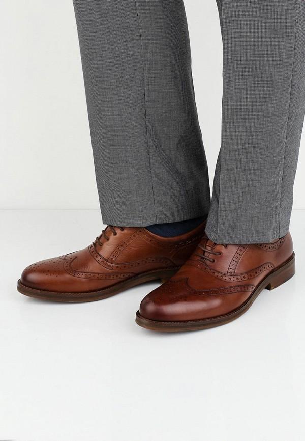 Фото 5 - мужские туфли Wojas коричневого цвета