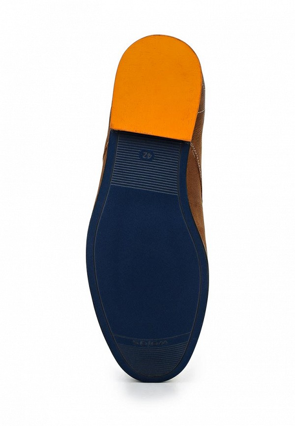 Фото 3 - мужские ботинки и полуботинки Wojas коричневого цвета