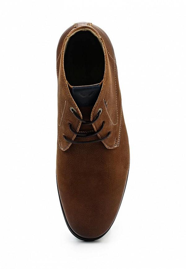 Фото 4 - мужские ботинки и полуботинки Wojas коричневого цвета