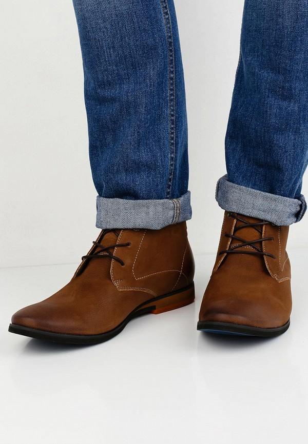 Фото 5 - мужские ботинки и полуботинки Wojas коричневого цвета