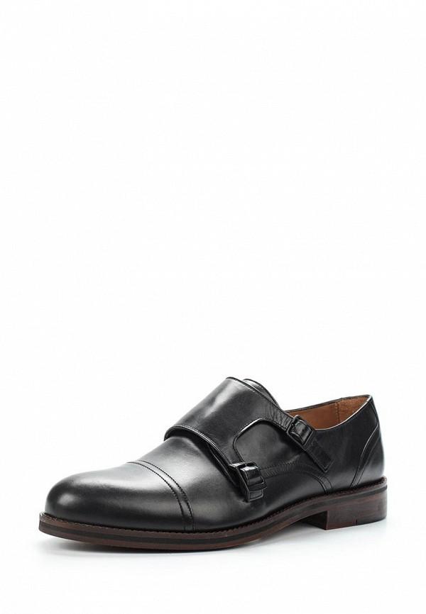 Фото - мужские туфли Wojas черного цвета