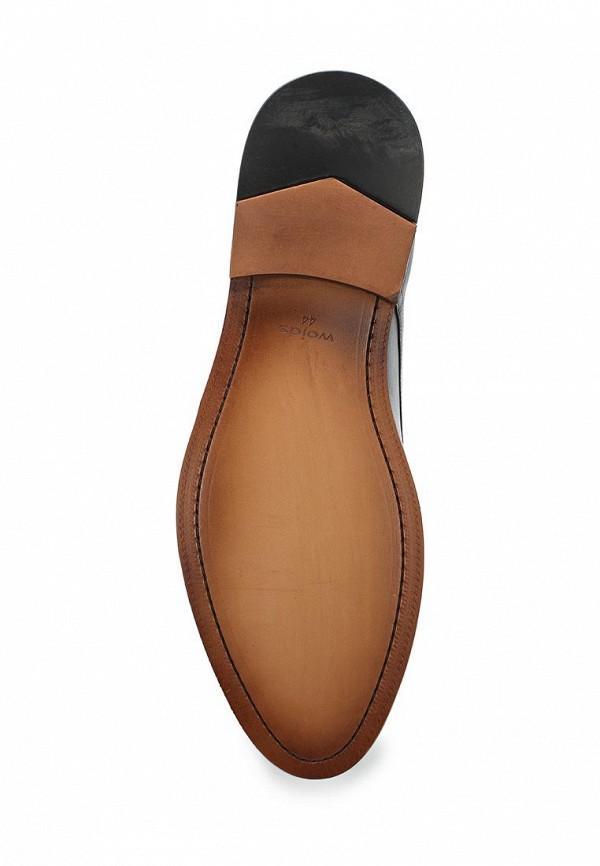 Фото 3 - мужские туфли Wojas черного цвета