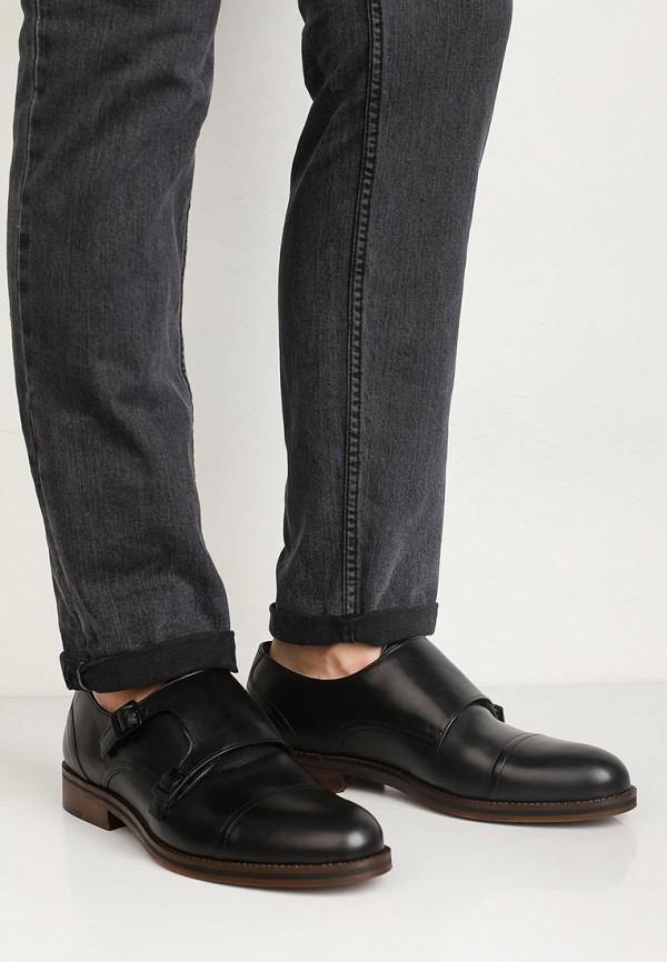 Фото 5 - мужские туфли Wojas черного цвета