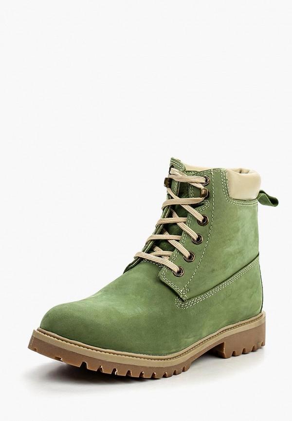 Фото - Ботинки Woodland зеленого цвета