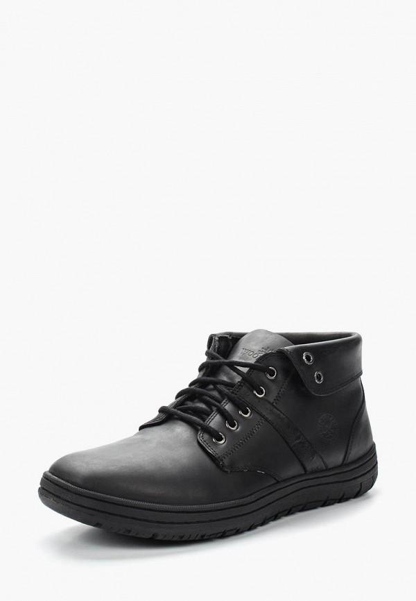 Фото - Ботинки Woodland черного цвета