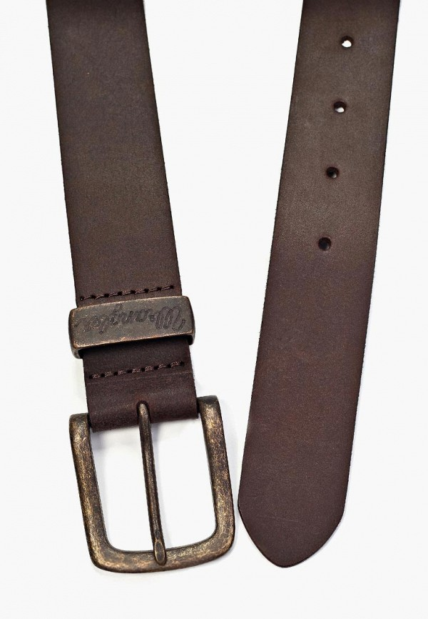 Фото 7 - Ремень Wrangler коричневого цвета