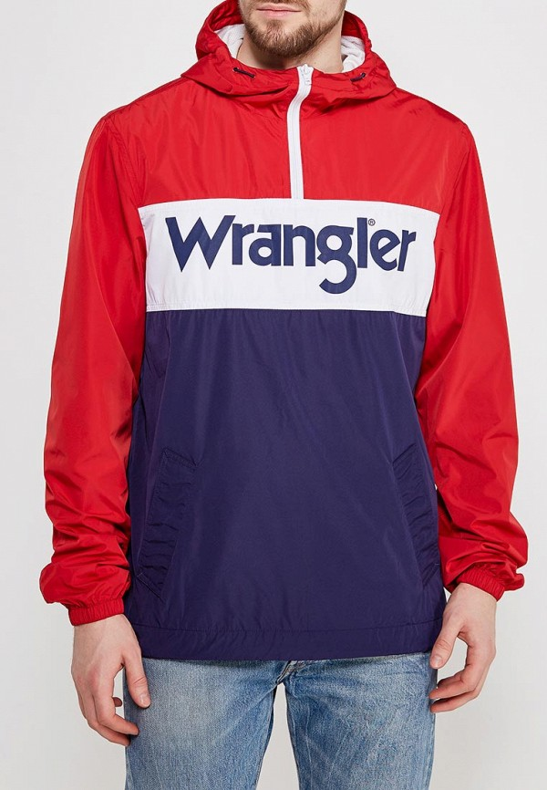 Ветровка Wrangler Wrangler WR224EMAPFD8 пуховик wrangler wrangler wr224ewvhj53