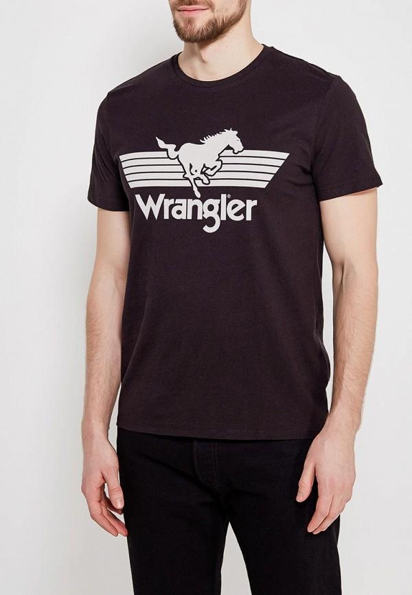 Футболка Wrangler Wrangler WR224EMAPFI6 бахарева н вязание спицами более 2000 иллюстраций самые понятный пошаговый самоучитель