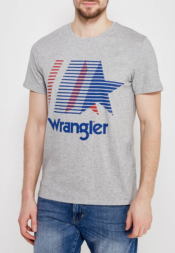 Футболка Wrangler Wrangler WR224EMAPFI9 футболка wrangler wrangler wr224ewxvm67