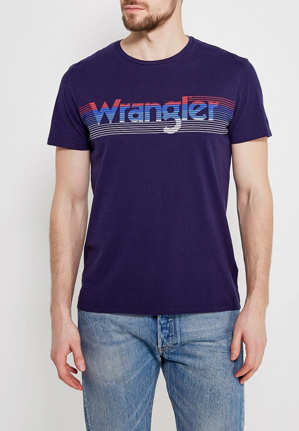 Футболка Wrangler Wrangler WR224EMAPFJ0 футболка wrangler wrangler wr224ewvhj44