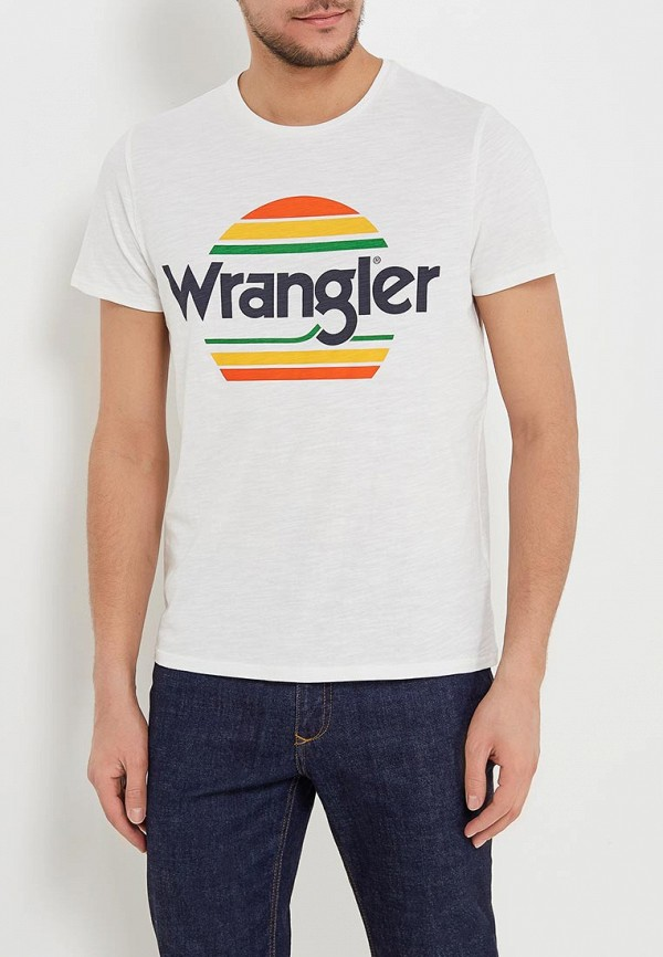 Футболка Wrangler Wrangler WR224EMAPFU9 футболка wrangler wrangler wr224ewxvm67