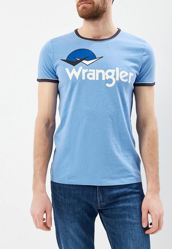 Футболка Wrangler Wrangler WR224EMAPFV2 футболка wrangler wrangler wr224ewxvm67