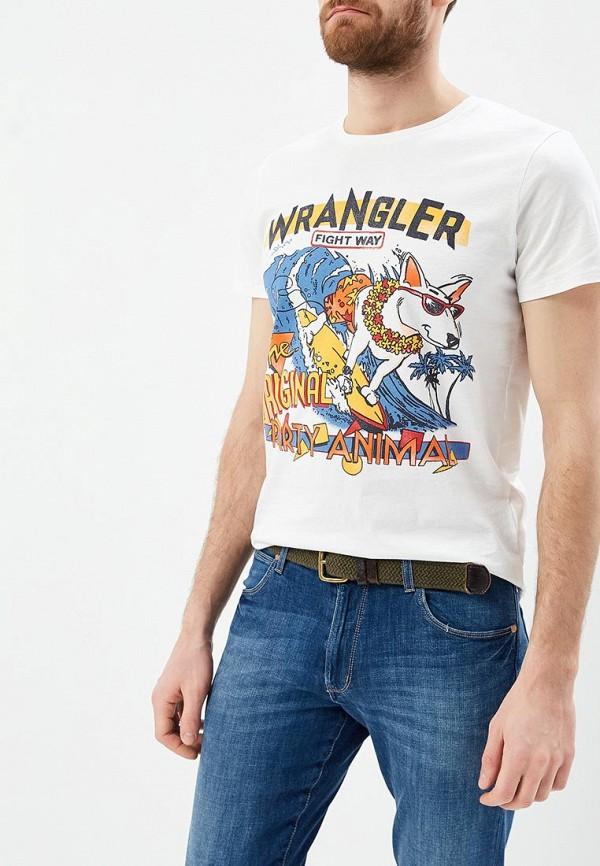 Футболка Wrangler Wrangler WR224EMAPFW1 слипоны wrangler wrangler wr224amqya30