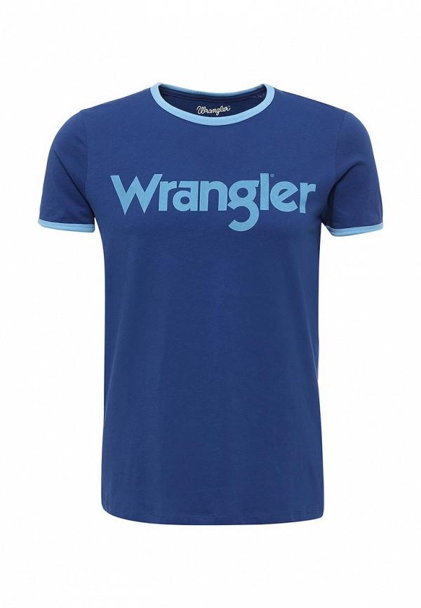 Футболка Wrangler Wrangler WR224EMTAH34 wrangler платье