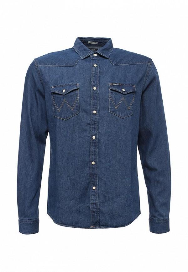 Рубашка джинсовая Wrangler Wrangler WR224EMVGY25 closed джинсовая рубашка