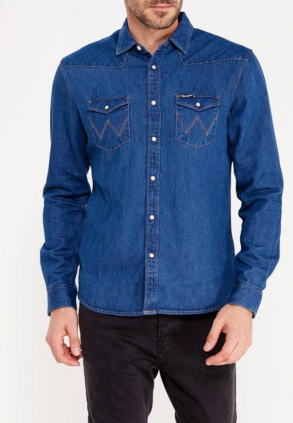 цены на Рубашка джинсовая Wrangler Wrangler WR224EMVGY25 в интернет-магазинах