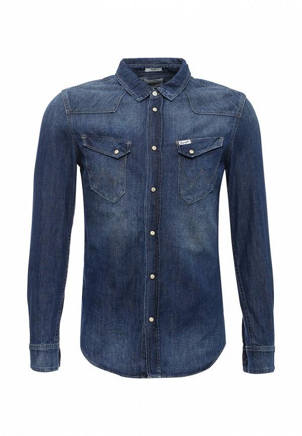 Рубашка джинсовая Wrangler Wrangler WR224EMVHF26 слипоны wrangler wrangler wr224amqya30