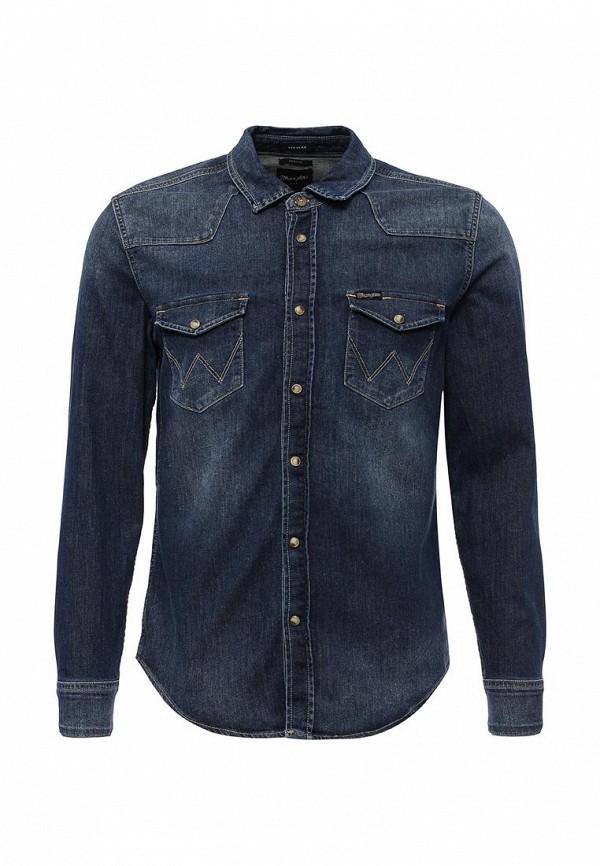 Рубашка джинсовая Wrangler Wrangler WR224EMVHF27 слипоны wrangler wrangler wr224amqya30