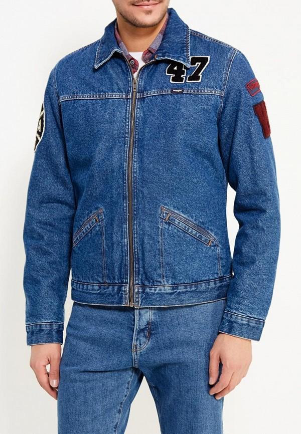 цены на Куртка джинсовая Wrangler Wrangler WR224EMXVM57 в интернет-магазинах