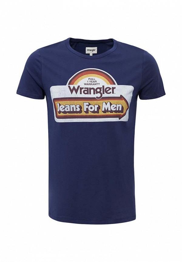 Футболка Wrangler Wrangler WR224EMXVM58 wrangler wrangler wr224emhzh96