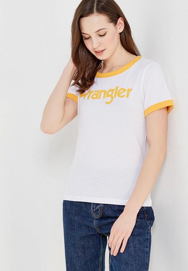 Футболка Wrangler Wrangler WR224EWAPFM1 футболка wrangler wrangler wr224ewxvm67