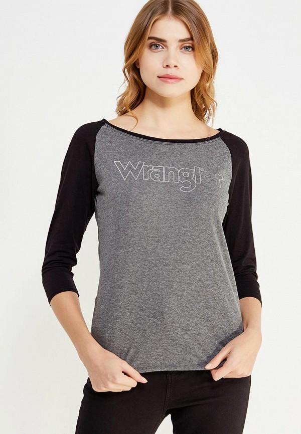 Лонгслив Wrangler Wrangler WR224EWVHJ42 слипоны wrangler wrangler wr224amqya30