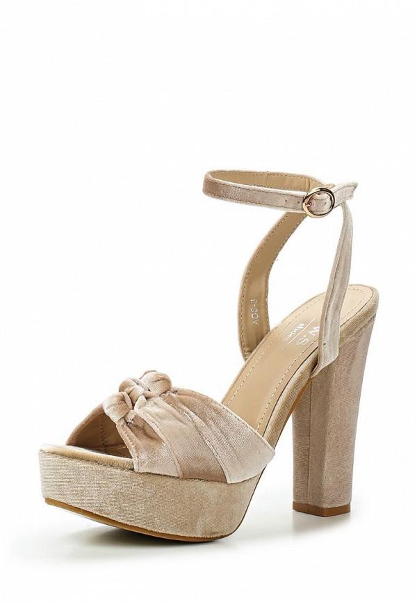 Босоножки WS Shoes WS Shoes WS002AWTSH28 мокасины ws shoes ws shoes ws002ampyn88