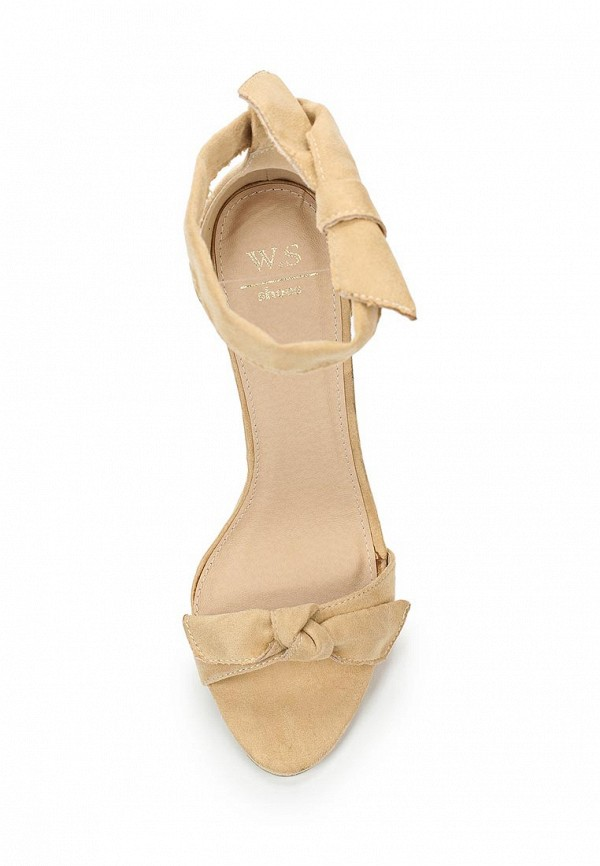 Фото 4 - женские босоножки WS Shoes бежевого цвета