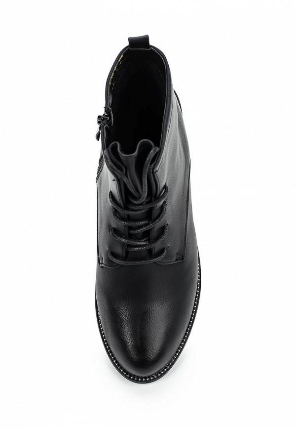 Фото 4 - женские ботинки и полуботинки WS Shoes черного цвета