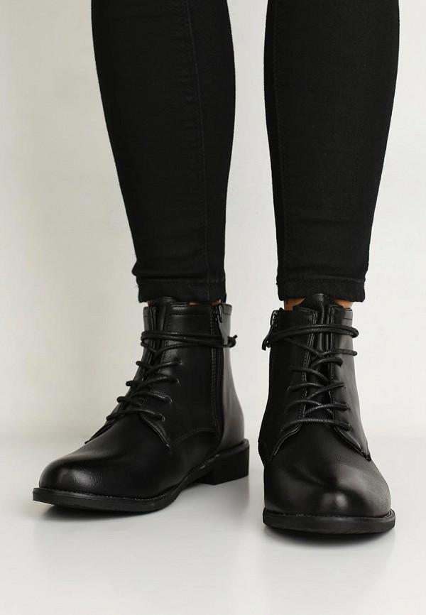 Фото 5 - женские ботинки и полуботинки WS Shoes черного цвета