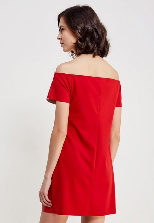 Фото 3 - Платье You&You красного цвета