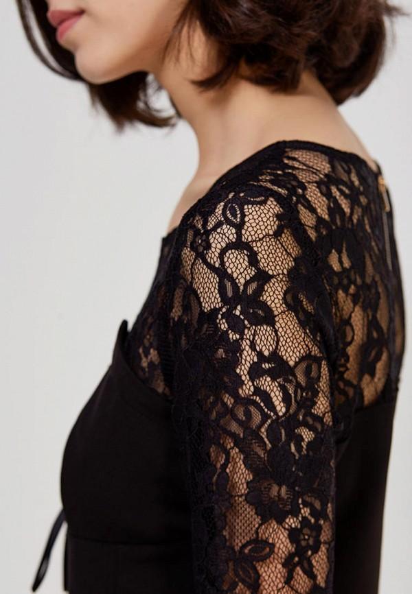 Фото 4 - Платье You&You черного цвета