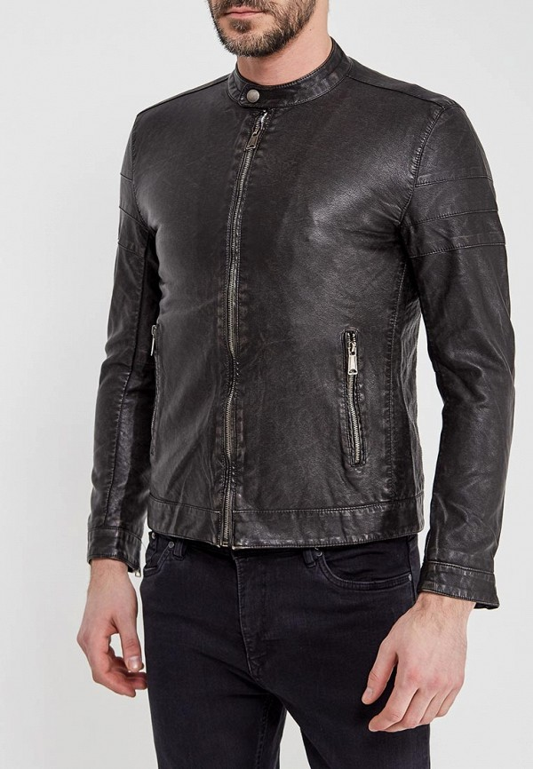 Фото Куртка кожаная Y.Two. Купить с доставкой