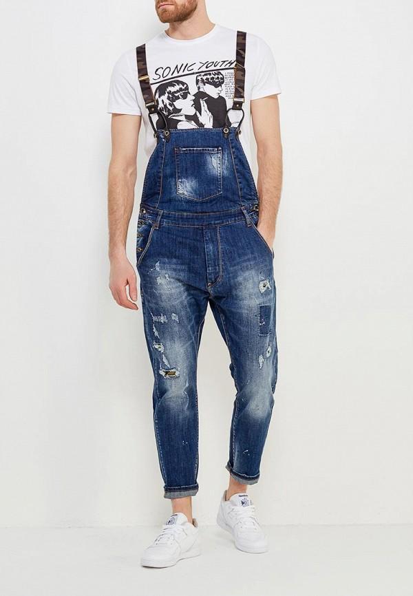 Комбинезон джинсовый Y.Two Y.Two YT002EMAPED0 комбинезон джинсовый синий ido ут 00011963