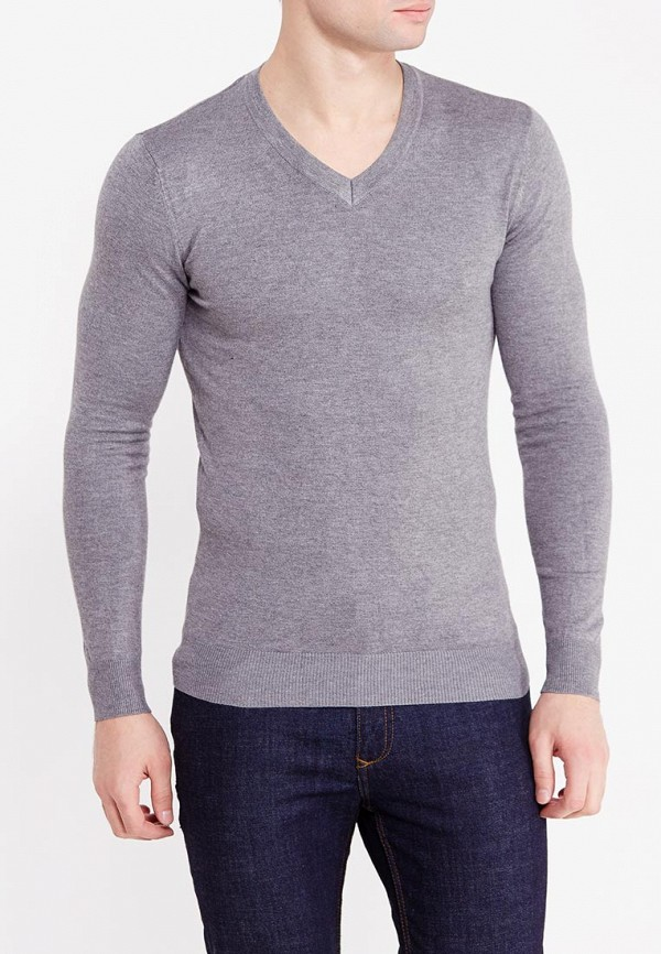 Фото 5 - мужской пуловер Y.Two серого цвета