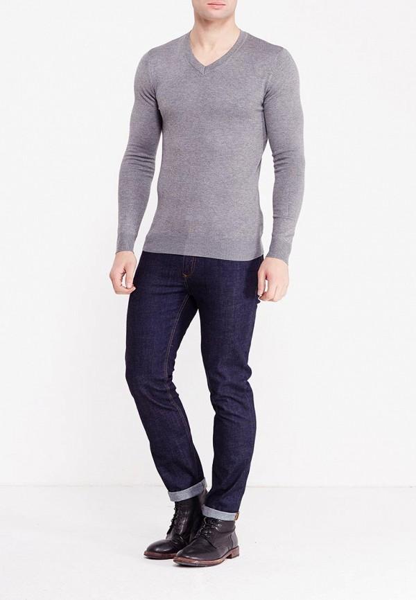 Фото 2 - мужской пуловер Y.Two серого цвета