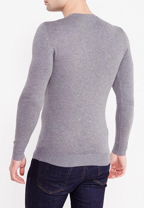 Фото 4 - мужской пуловер Y.Two серого цвета