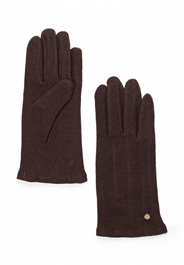 Перчатки Zarina. Цвет: коричневый