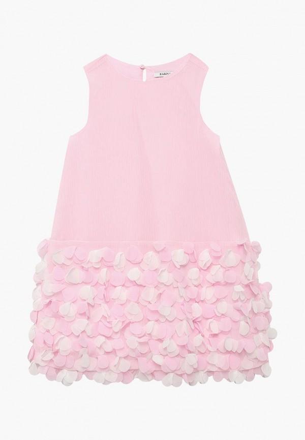 Купить Платье Zarina, ZA004EGBBGY0, розовый, Весна-лето 2018