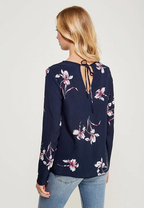 Фото 3 - женскую блузку Zarina синего цвета