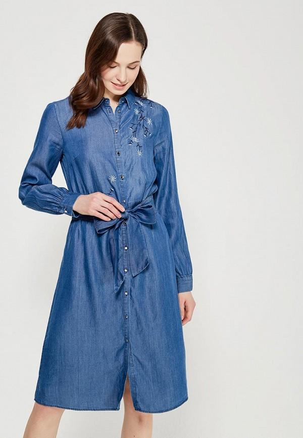 Платье джинсовое Zarina Zarina ZA004EWABTZ7 джинсовое платье