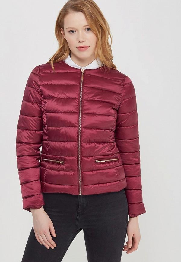 Купить Куртка утепленная Zarina, ZA004EWABUH0, бордовый, Весна-лето 2018