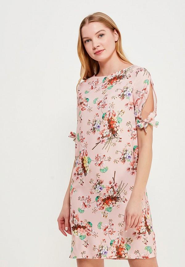 Купить Платье Zarina, ZA004EWABUJ5, розовый, Весна-лето 2018