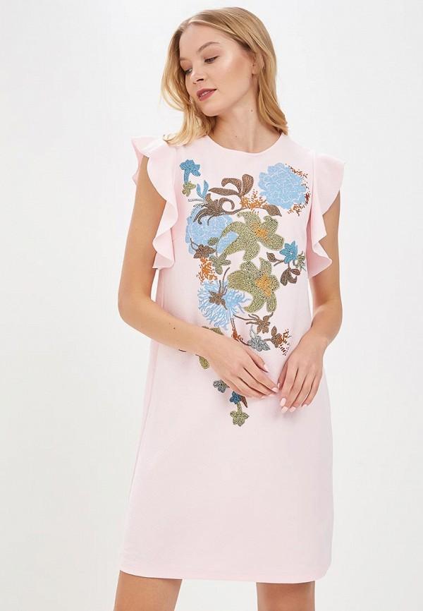 Купить Платье Zarina, ZA004EWAZNF0, розовый, Весна-лето 2018