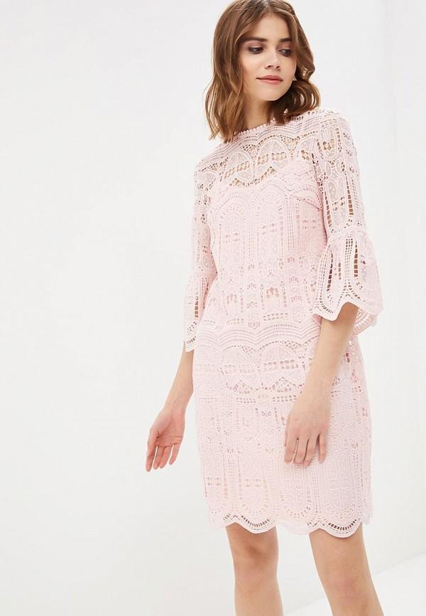 Купить Платье Zarina, ZA004EWAZNG2, розовый, Весна-лето 2018