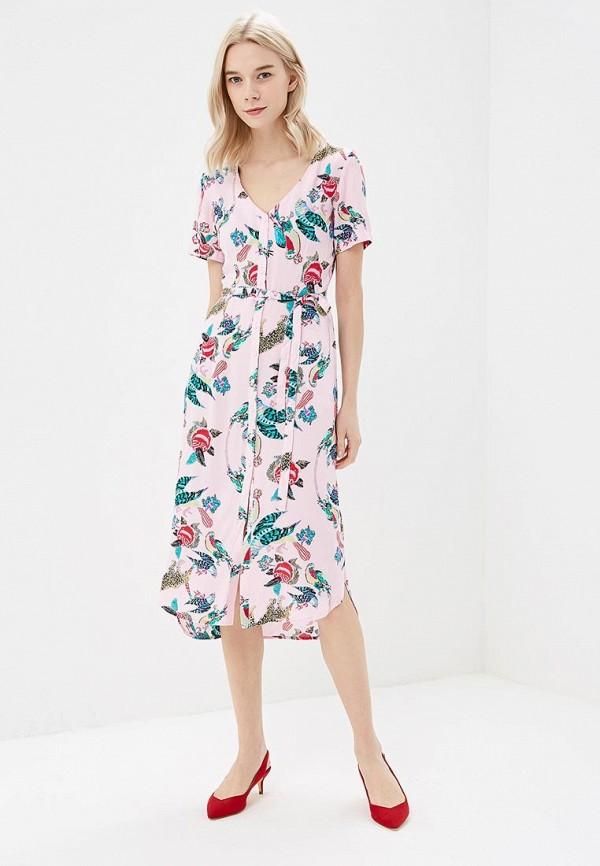 Купить Платье Zarina, ZA004EWAZOD9, розовый, Весна-лето 2018
