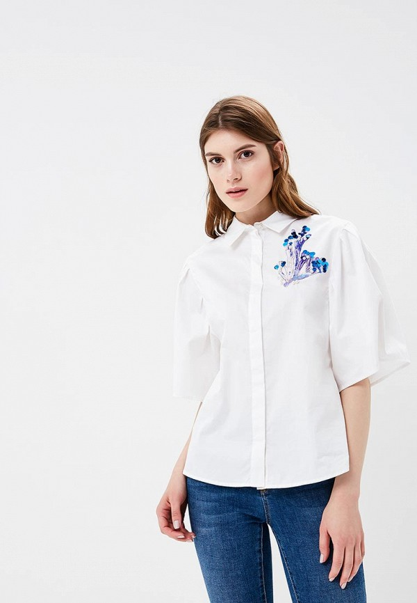Купить Рубашка Zarina, ZA004EWAZOK9, белый, Весна-лето 2018