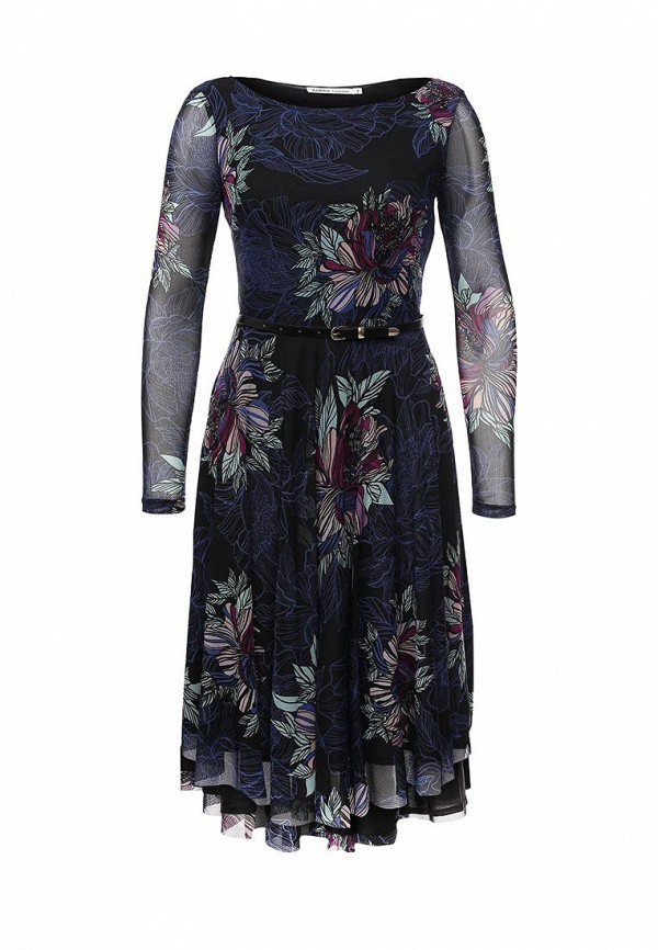 Платье-миди Zarina 632919526