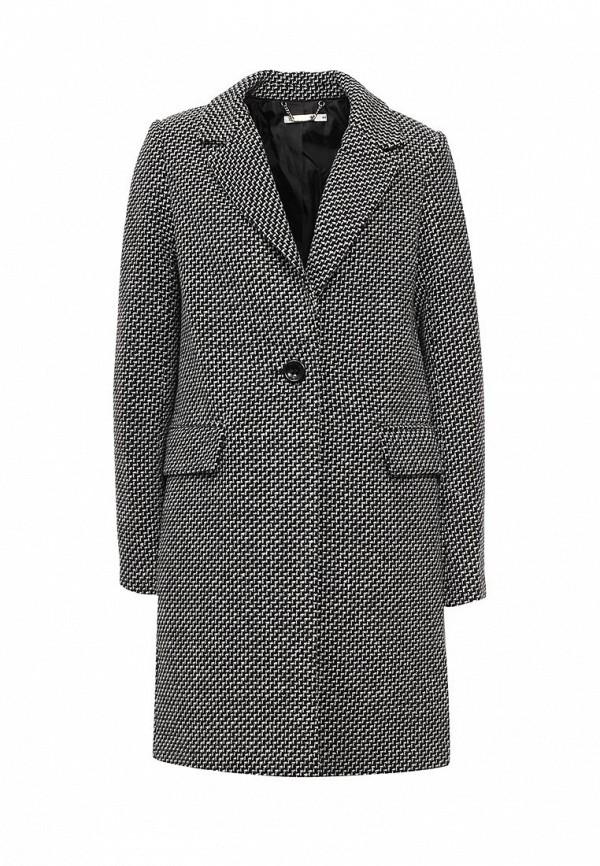 Фото - женское пальто или плащ Zarina серого цвета
