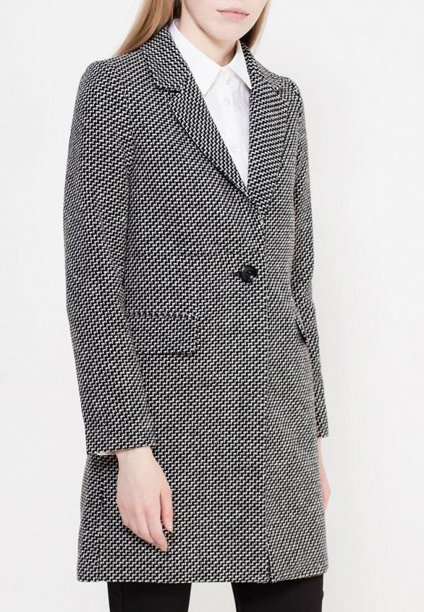 Фото 3 - женское пальто или плащ Zarina серого цвета